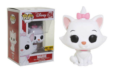 FUNKO Disney's The Aristocats Marie Flocked Variant Pop Vinyl