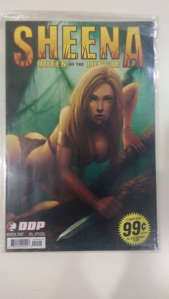 DDP Sheena Queen of the Jungle $2.00