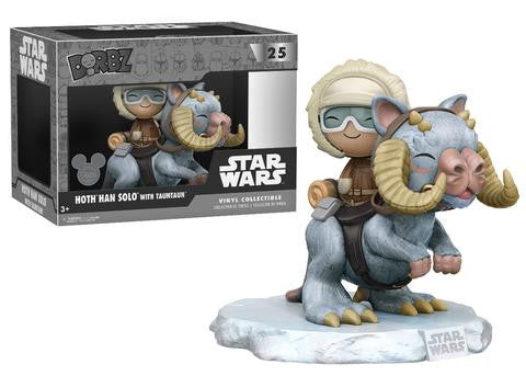 Disney D23 Exclusive Star Wars: Hoth Han Solo with TaunTaun Dorbz Ride