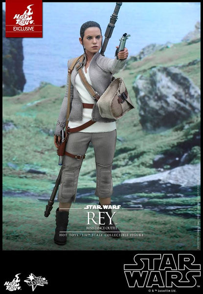 Hot Toys Star Wars  1/6th scale Rey (Resistance Outfit)