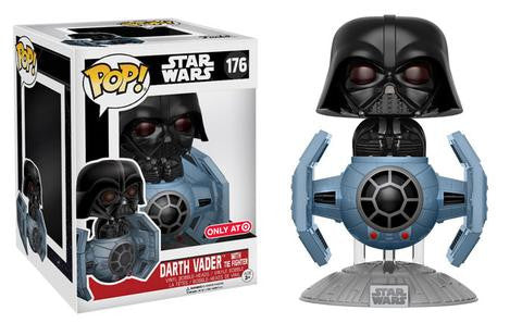 FUNKO POP Target Exclusive Star Wars Vader w/ Tie Advance