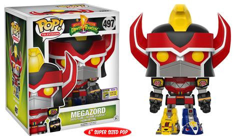 "FUNKO SDCC 2017 EXCLUSIVE Pop! Power Rangers – 6"" Megazord"