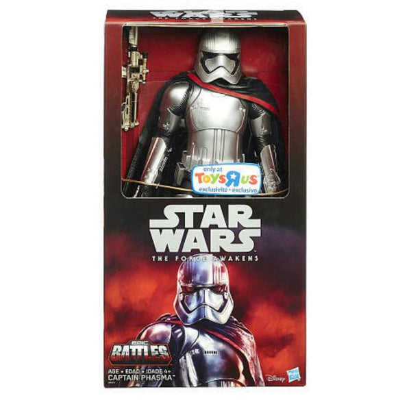 "STAR WARS TFA the force awakens 12"" Captain Phasma TRU Exclusive"