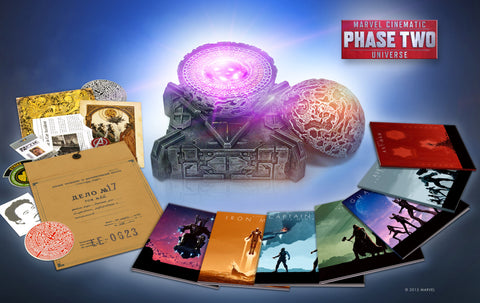 Marvel Cinematic Universe: Phase Two BluRay Box Set