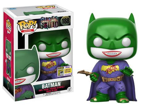 FUNKO SDCC EXCLUSIVE 2017 DC Imposter Batman