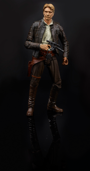 STAR WARS TFA BLACK SERIES HAN SOLO (TFA VERSION)