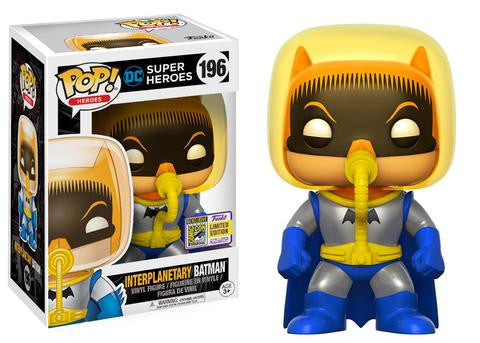 FUNKO DC SDCC 2017 Exclusive Interplanetary Batman