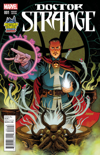 DOCTOR STRANGE VOL. 4 #1 MIDTOWN EXCLUSIVE DAVE JOHNSON VARIANT