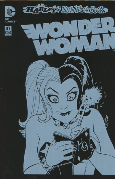 Wonder Woman Vol 4 #47 Cover B Variant Amanda Conner Harley Quinn Cover With Polybag