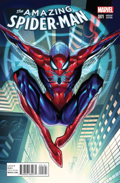 AMAZING SPIDER-MAN VOL. 4 #1 J SCOTT CAMPBELL VARIANT