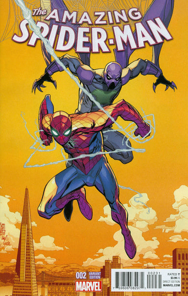 AMAZING SPIDER-MAN VOL. 4 #2 INCENTIVE VARIANT