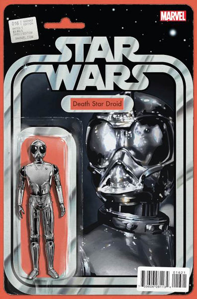 STAR WARS VOL 4 #16 JOHN TYLER CHRISTOPHER ACTION FIGURE DEATH STAR DROID VARIANT