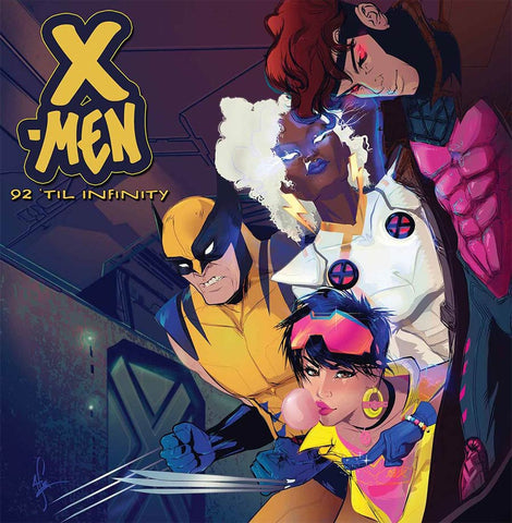 X-MEN 92 VOL. 2 #1 AFUA RICHARDSON MARVEL HIPHOP COVER VARIANT