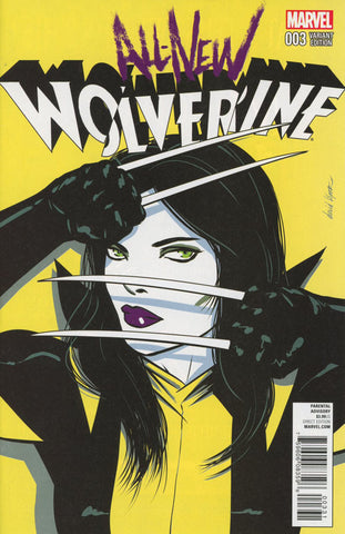 ALL-NEW WOLVERINE #3 DAVID LOPEZ VARIANT