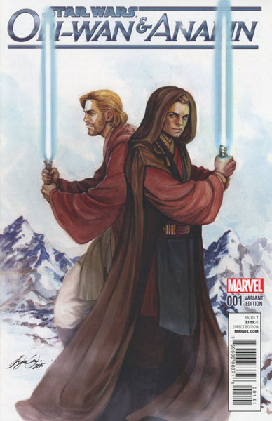 Obi-Wan And Anakin #1 Cover F Incentive Siya Oum Variant Cover