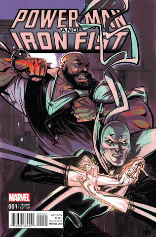 POWER MAN AND IRON FIST VOL 3 #1 CHRIS VISIONS VARIANT
