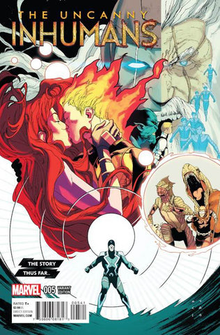 UNCANNY INHUMANS #5 COVER B INCENTIVE STORY THUS FAR VARIANT