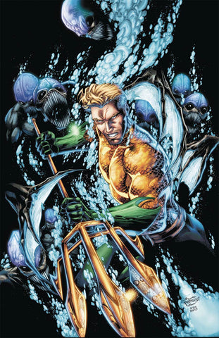 AQUAMAN VOL. 5 #52 BRETT BOOTH NEW 52 HOMAGE COVER VARIANT