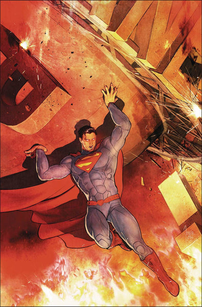 SUPERMAN VOL. 4 #52 MIKEL JANIN NEW 52 HOMAGE COVER VARIANT