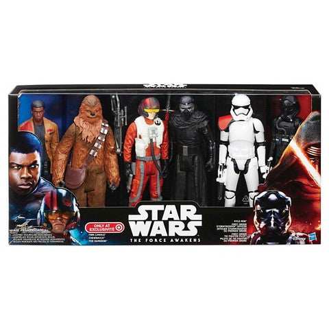 Star Wars The Force Awakens 6 Figure Pack Target Exclusive