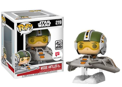 FUNKO STAR WARS WALGREEN EXCLUSIVE Pop! Deluxe: Star Wars – Wedge Antilles with Snowspeeder