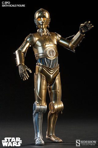 Star Wars Side Show - C-3PO Sixth Scale Figure by Sideshow Collectibles