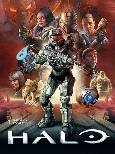 HALO LIBRARY ED HC VOL 1