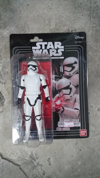 "Bandai Star Wars 6"" Figure First Order Storm Trooper"