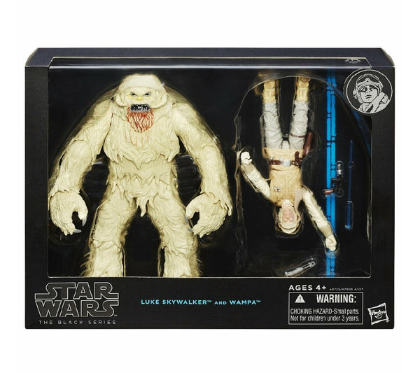 "Star Wars Black Series 6"" Luke And Wampa Set"