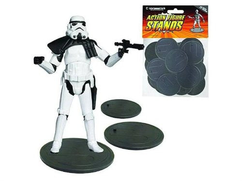 Action Figure Stands 25-Pack (Gray)