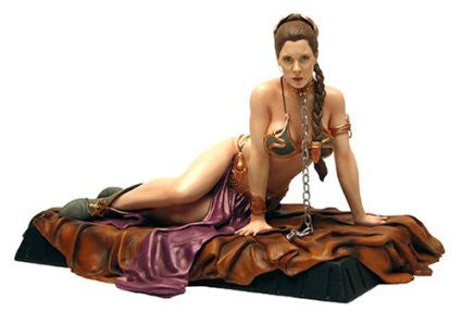 Star Wars - Statue: Princess Leia As Jabba's Slave - Gentle Giant