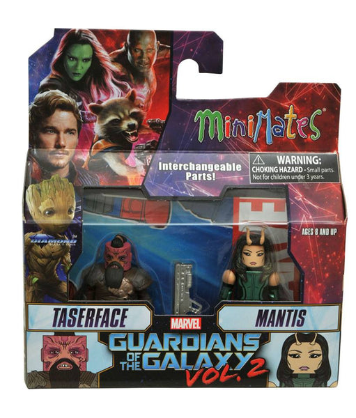 Diamond marvel select minimates guardians of the galaxy vol 2 taserface and mantis