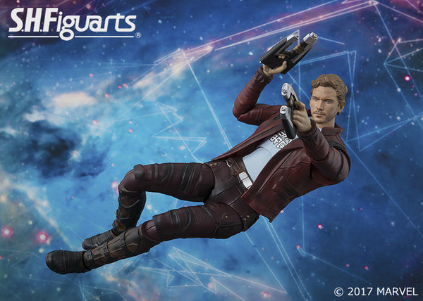S.H. Figuarts Guardians of the Galaxy Vol. 2 – Star-Lord Figure Bandai marvel