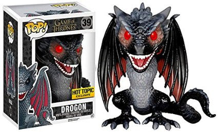 Funko Pop Game of Thrones Red-Eyed Drogon Hot Topic Exclusive