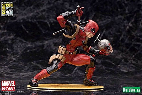 Sdcc 2015 Exclusive Kotobukiya Deadpool Chimichanga Limited Edition Statue