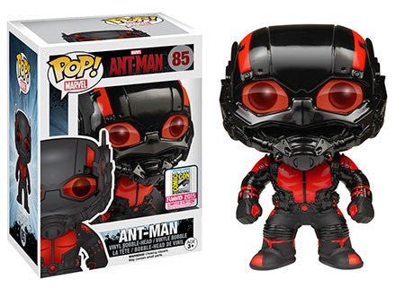 Funko POP Marvel: Black Out Ant-Man Action Figure  2015 SDCC Exclusive