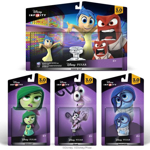 Disney Infinity 3.0 Edition: Inside Out Toy Bundle Exclusive