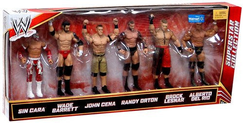 Mattel Wwe Wrestling Exclusive Superstar Collection Action