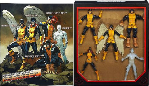 "Marvel Legends Exclusive All New X-Men Set [Cyclops, Angel, Marvel Girl, Iceman & Beast] 6"" Figures"