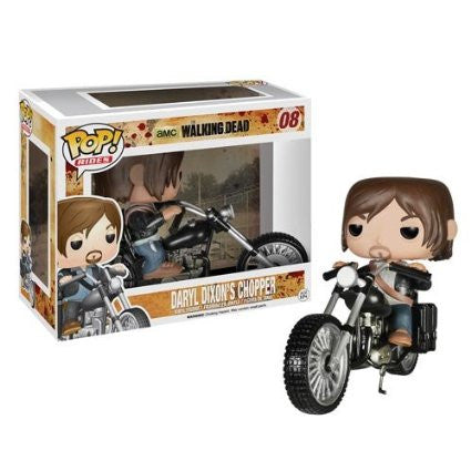 Funko Pop Rides Daryl Dixon's Chopper the Walking Dead