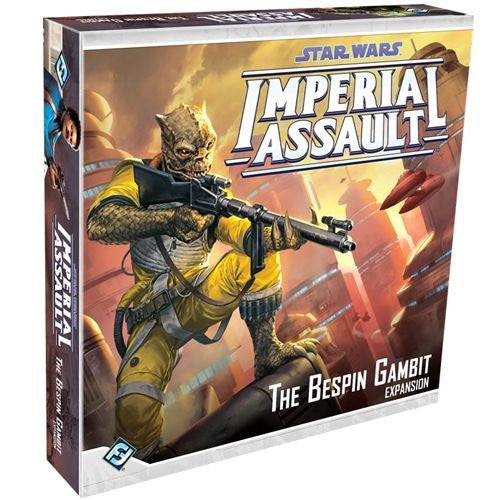 Star Wars Imperial Assault The Bespin Gambit Game