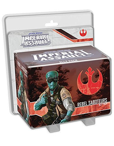 Star Wars Imperial Assault - Rebel Saboteurs Pack
