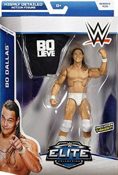 BO DALLAS - WWE ELITE 36 MATTEL TOY WRESTLING ACTION FIGURE