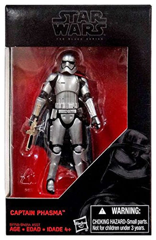 Star Wars Black Series Captain Phasma Action Figure 3.75 Inches