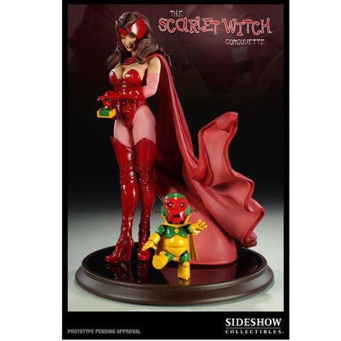 Scarlet Witch - Comiquette Polystone Statue by Sideshow Collectibles