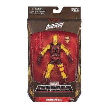 "Marvel Legends Infinite Series Daredevil 6"" Yellow Exclusive Action Figure"