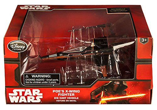 Disney Star Wars The Force Awakens Poe's X-Wing Fighter Die Cast Vehicle