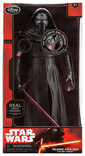 "STAR WARS THE FORCE AWAKENS DISNEY STORE 14"" TALKING FIRST ORDER STORMTROOPER"
