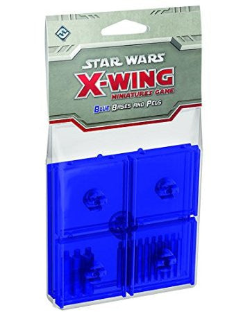 X-Wing Miniatures: Bases & Pegs Game, Blue