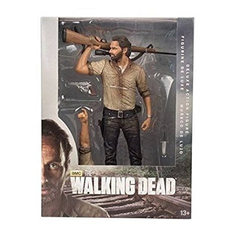 "McFarlane Toys The Walking Dead TV 10/"" Rick Grimes Deluxe Figure"